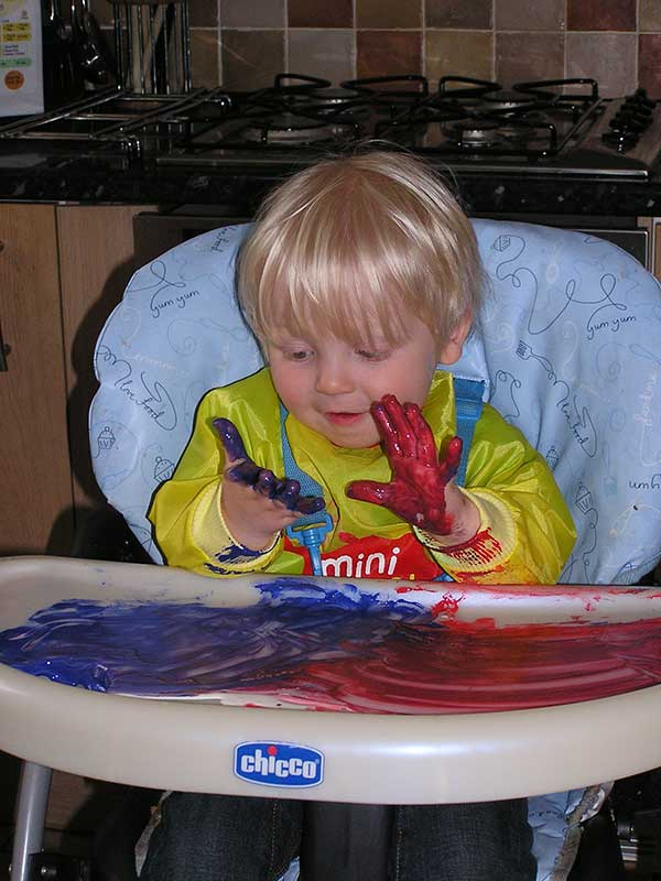 Process Art for Babies and Toddlers