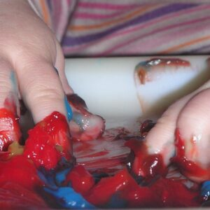 Simple Process Sensory Art Activity for Toddlers and Babies