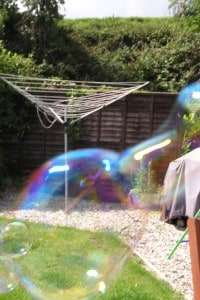 Coloured bubbles