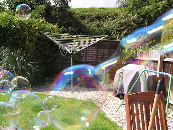 Bubbles coloured