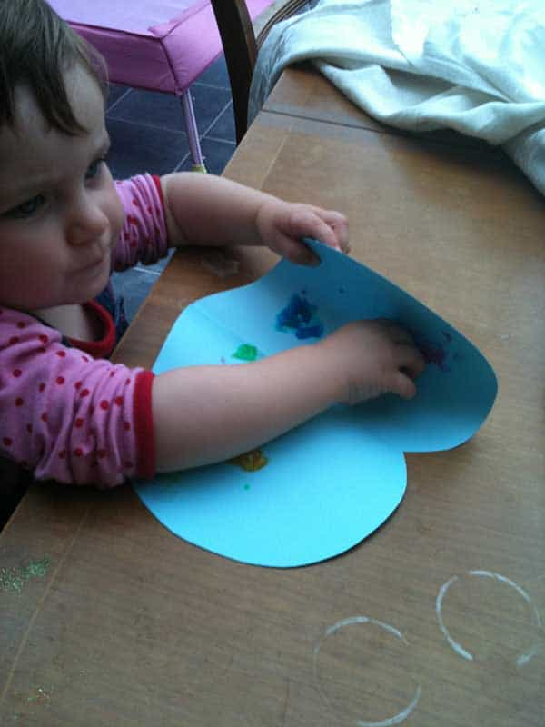 Valentines Day Activity for young toddlers