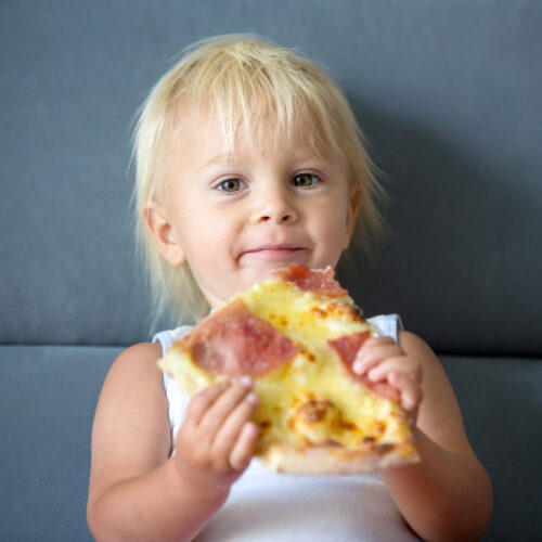 Easy Pizza Making with Toddlers