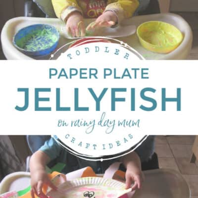 Easy Paper Plate Jellyfish Craft for Toddlers