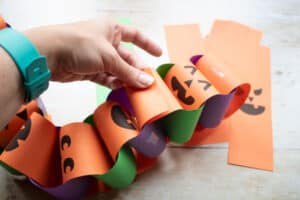 connecting 2 paper chains together