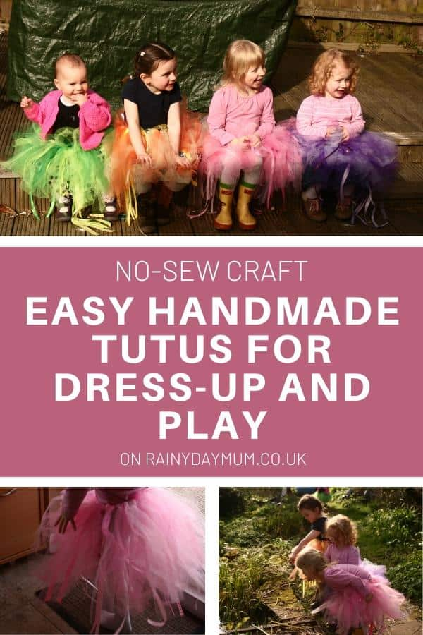 no sew craft an easy tutu to make for kids