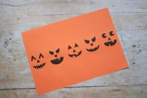 Free printable Halloween Paper Chain papers