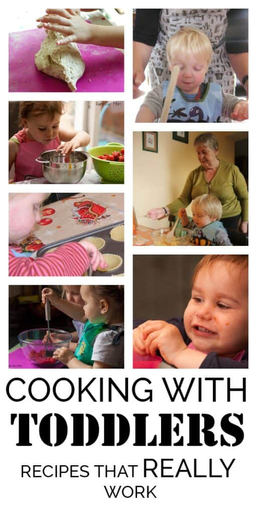 The Best Easy Recipes to Cook and Bake with Toddlers
