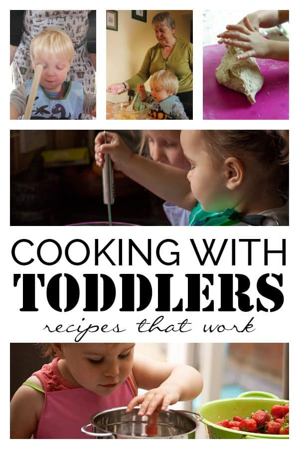 Cooking with Toddlers Recipes that you can REALLY Cook Together