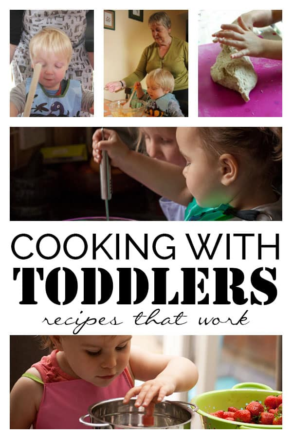 Recipes for Cooking with Toddlers