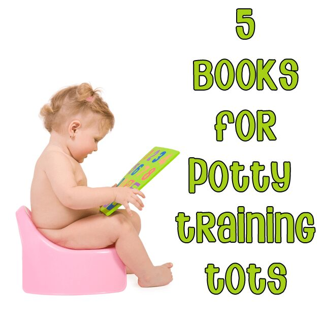 Potty training books to read with kids