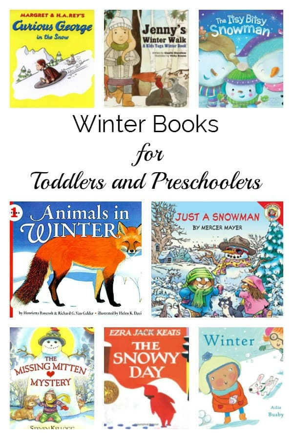 Read these recommendations of winter books for toddlers that last through to preschool. With fiction and non-fiction help explain the season with reading