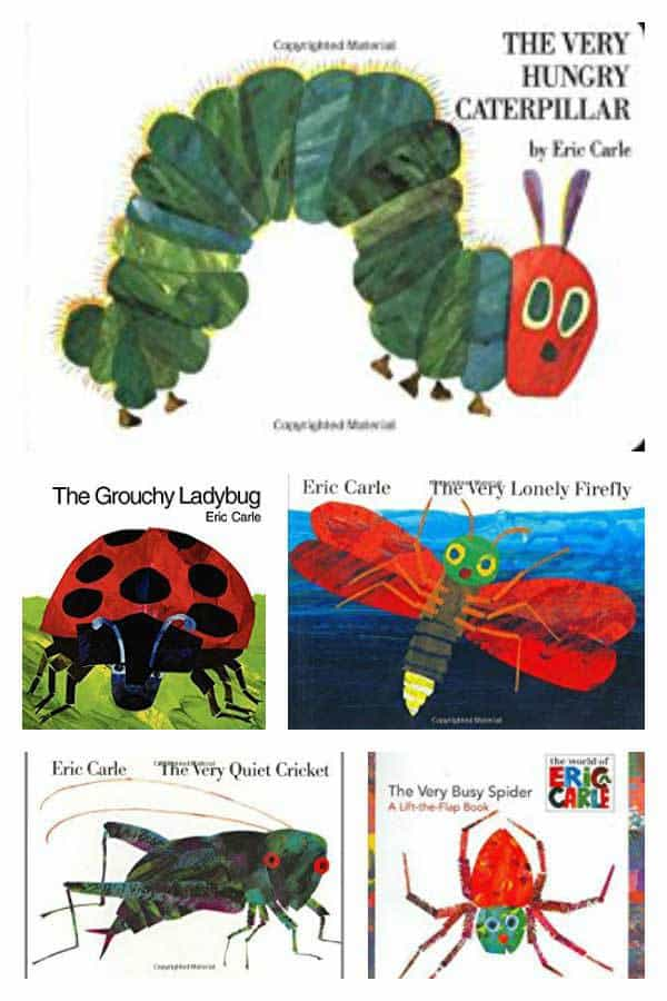 List of Books based on Bugs by Eric Carle