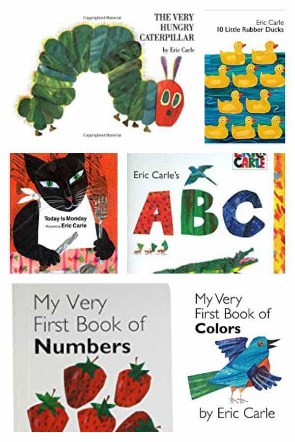 Early Learning Books by Eric Carle perfect for Toddlers and Preschoolers