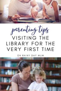 parenting tips visiting the library for the first time with your toddler