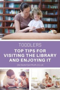 Tops tips for visiting the library with your toddlers and enjoying it