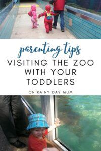 parenting tips visiting the zoo with your toddlers