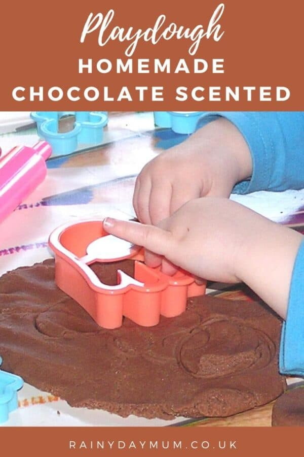 playdough recipe for no cook without cream of tartar chocolate scented