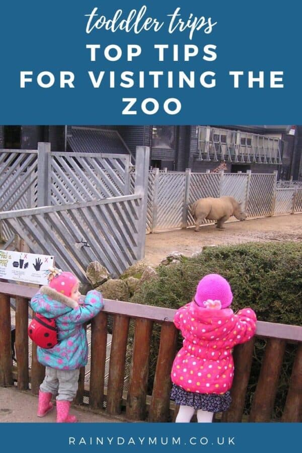 toddler trips - top tips for visiting the zoo