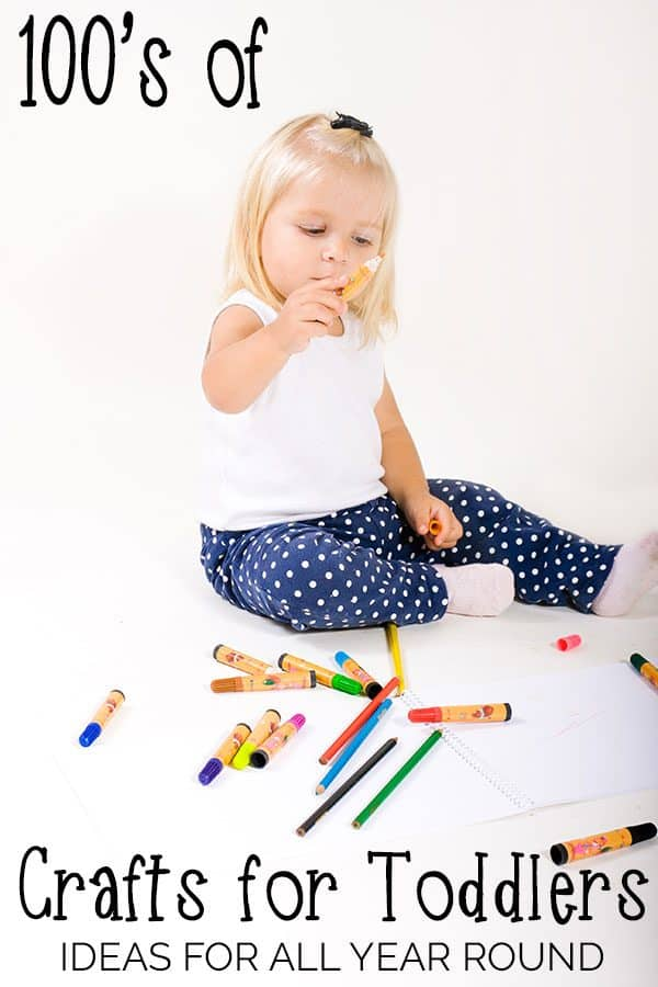 Hundred's of Activities and Crafts for Babies, Toddlers and Preschoolers