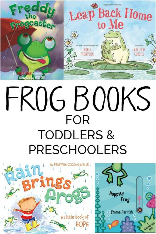 A fun selection of Frog Books ideal for toddlers & preschoolers including our favorites with bright pictures & fantastic rhymes perfect for Spring Reading