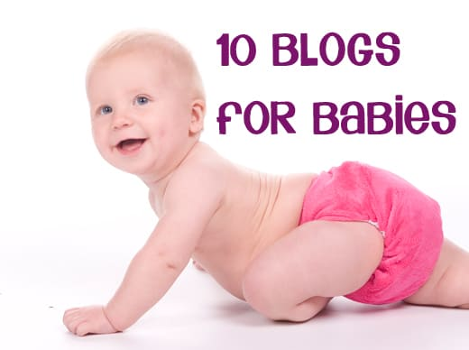 10 go to blogs for ideas and activities for babies
