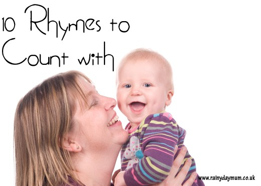 10 rhymes to count with for babies, toddlers and preschoolers