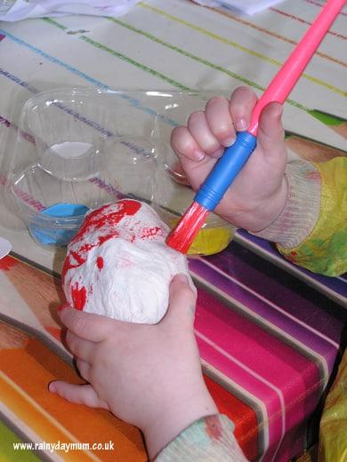 Humpty Dumpty toddler craft
