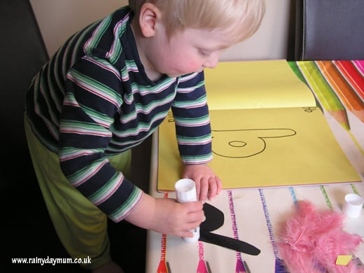 b is for bird simple letter craft for toddlers to make