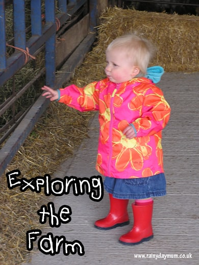 Exploring the farm for babies, toddlers and preschoolers field trip