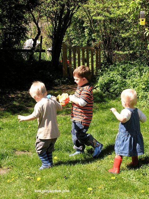 child safe garden