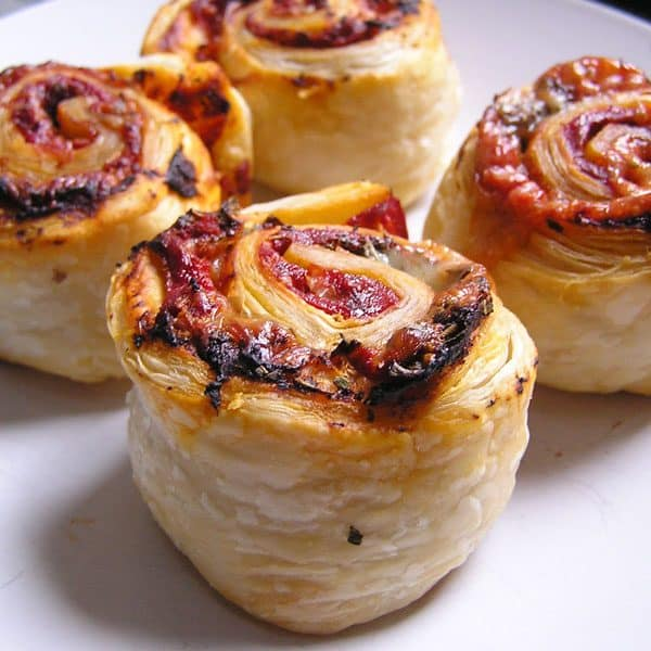 Easy to cook with toddler recipe for Pizza Wheels. Perfect to make for a snack or serve with some vegetables for an easy finger food.