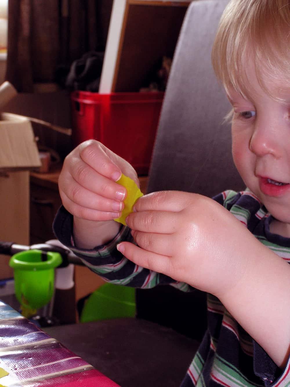 Small Hands Creating Hope – Butterflies