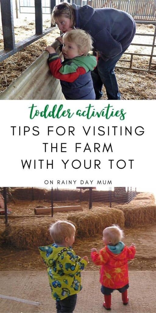 tips for visiting t he farm with your tots