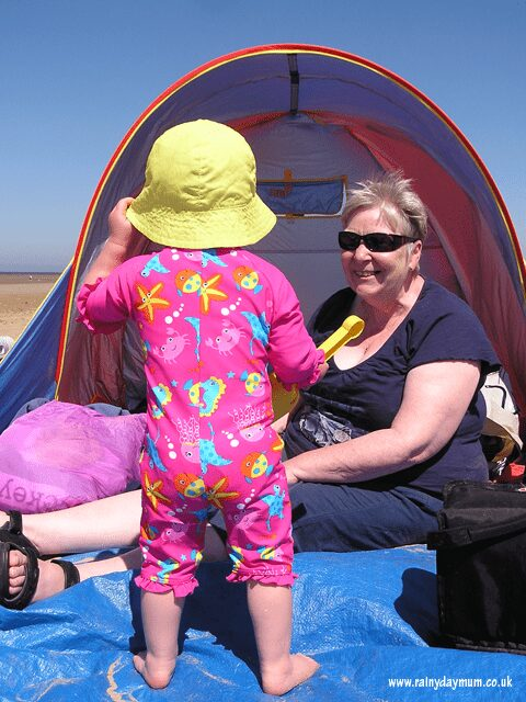 10 Top tips for you and your toddlers at the beach. Plus bonus activities to do with them whilst you are there and then even more when you return.