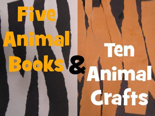 animals books and craft ideas