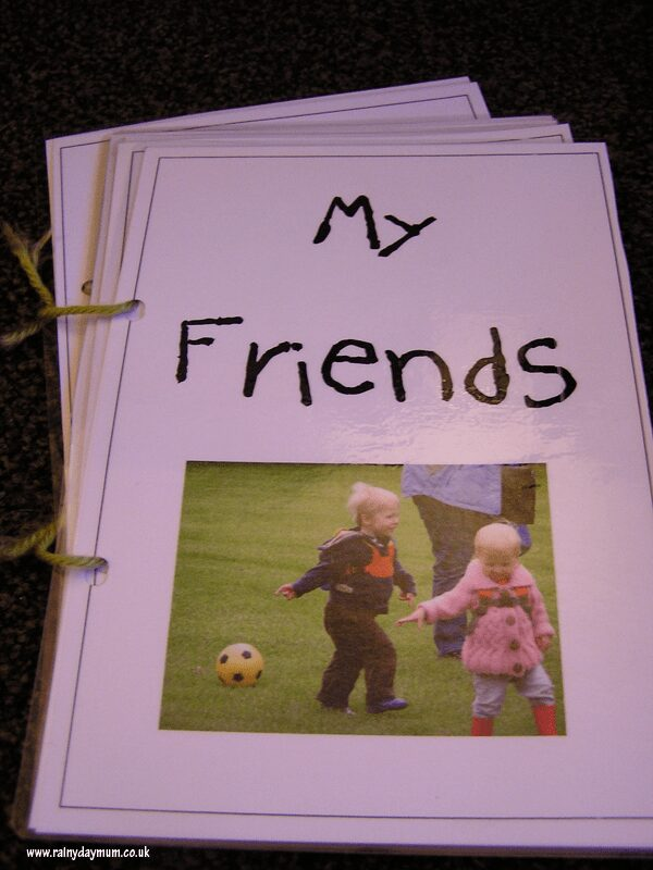 Friend book for young children