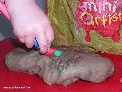 play dough canvas