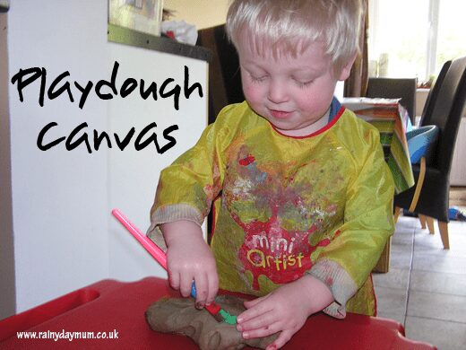 Play dough pledge - Canvas