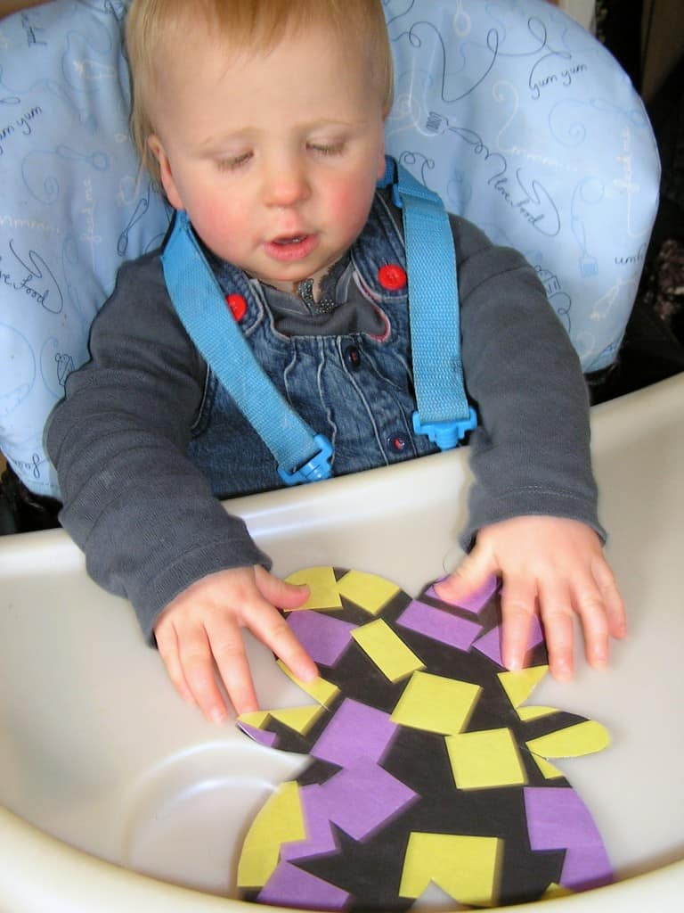 Baby hands making projects to raise money for charity