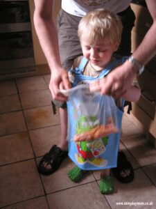 cooking with preschool children