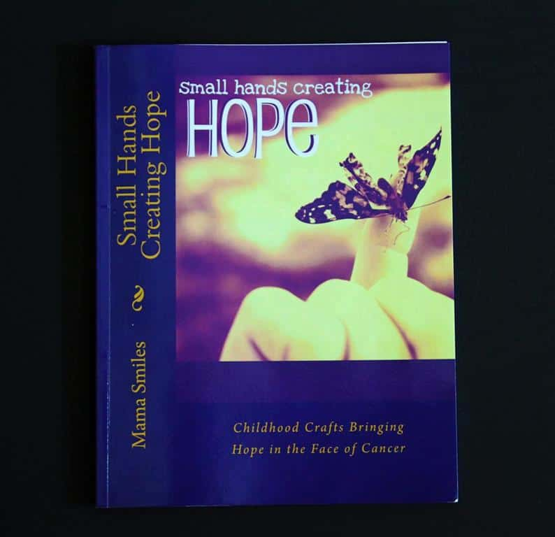 Small hands creating hope book