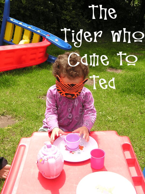 Bringing books alive the tiger who came to tea