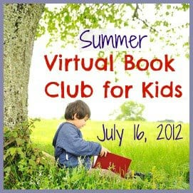 July Summer Virtual Book Club for Kids