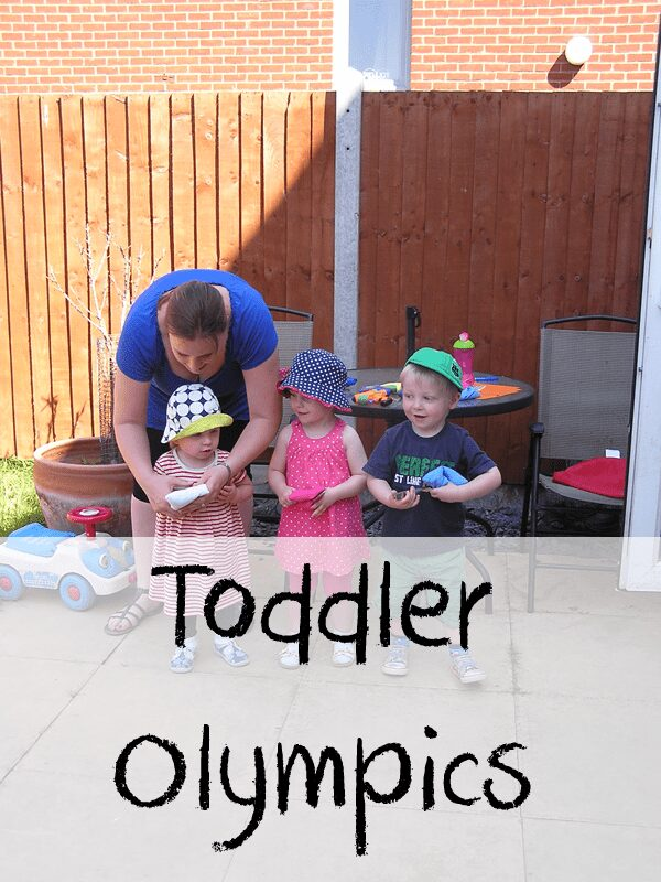Toddler Olympic Games