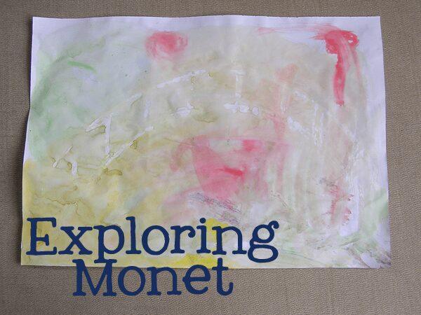 monet for preschoolers