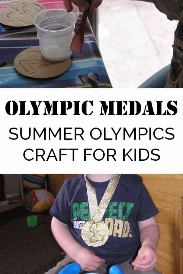 Olympics Medals – Simple Summer Craft for Kids to Make