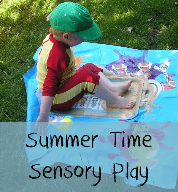 Summer time sensory play