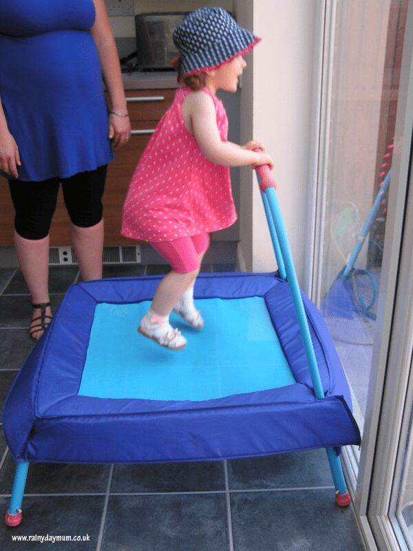 Jumping event for toddlers