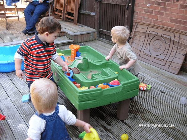 Water Table Spring Play