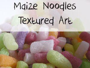 Maize Noodle art work